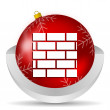 Firewall icon — Stock Photo #14722677