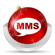 Mms icon — Stock fotografie #14722855