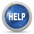 Help icon — Stock Photo #14726113