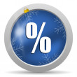 Percent icon — Stock Photo #14726543