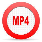 значок mp4 — Стоковое фото