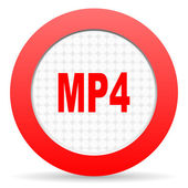 Icono de mp4 — Foto de Stock