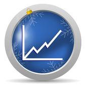 Diagram ikon — Stockfoto