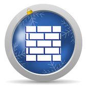 ícone firewall — Foto Stock