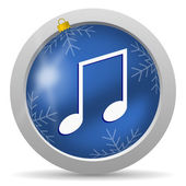 Music icon — Foto Stock