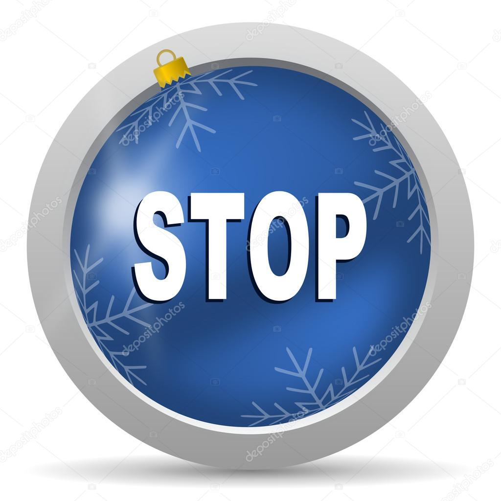Stop icon — Stock Photo #14726067