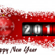 Stock Photo: Happy new year illustration with counter
