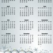 New year 2013 calendar — Stock Photo