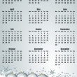 New year 2013 calendar - Stock Photo