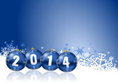 2014 new years illustration — Stockfoto
