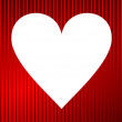 Stock Photo: Valentine vector background with hearts