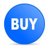 Buy blue circle web glossy icon — Stock Photo
