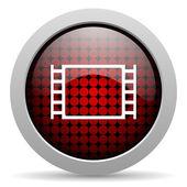 Icono del cine brillante — Foto de Stock