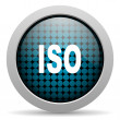Stock Photo: Iso glossy icon