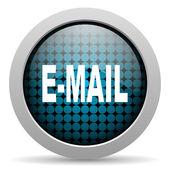 Mail glossy icon — Stock Photo