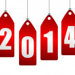 2014 new year illustration — Stock Photo #25269957