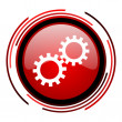 Gears icon - Foto Stock