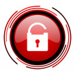 Padlock icon — Stock Photo #25405749