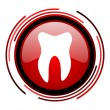 Stock Photo: Tooth icon