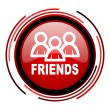 Friends icon — 图库照片 #25406875