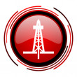 Drilling icon - Stock Photo