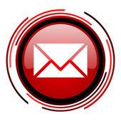 Ikonen e-post — Stockfoto
