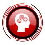 Icono de cabeza — Foto de Stock