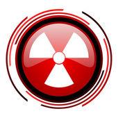 Icona di radiazione — Foto Stock