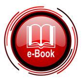 E-book icon — Stock Photo
