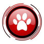 Animal footprint icon — Stock Photo