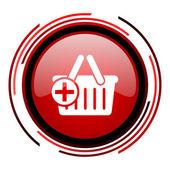 Icono de carrito compras — Foto de Stock