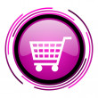 Shopping cart icon — Stock Photo #26478323