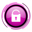 Stock Photo: Padlock icon
