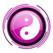 Ying yang icon — Stock Photo #26478461