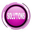 Solutions icon — Stock Photo #26479773