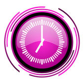 Icona orologio — Foto Stock
