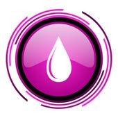 Водный символ снижения — Стоковое фото