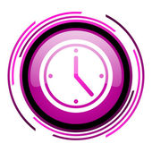 Clock icon — Foto Stock