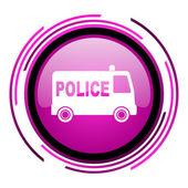 Police icon — Stock Photo