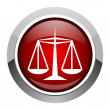 Justice icon — Stock Photo #26679115