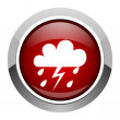 Stock Photo: Weather forecast icon