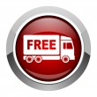 Stock Photo: Free delivery icon