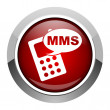 Mms icon — Stock fotografie #26679867