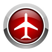 Airport icon — Stock Photo
