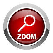 Zoom icon — Stock Photo