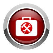 Toolkit icon — Zdjęcie stockowe