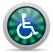 Accessibility icon — Stock Photo #26729445