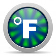 Fahrenheit icon — Stock Photo #26729557