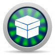 Box icon — Stock Photo #26729607
