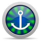 Anchor icon — Stock Photo